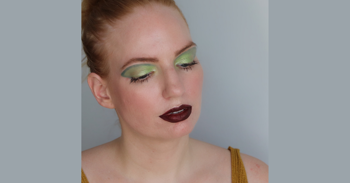 Make-up Look Waldmeister Wackelpudding